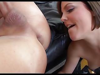 Ass, Ass Lick, Babe, Brunette, Lick, Milf
