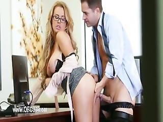 Perfect Office Banging With Beautiful Secretary