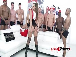 10 Man Gangbang For Amirah Adara Sz995
