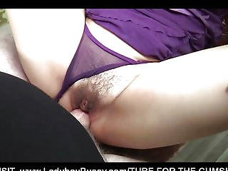 Purple Babydoll Barebacking