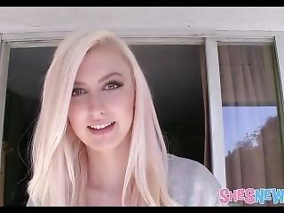 Hot Blonde Teen Model Alexa Grace In Her First Ever Porn Shoot