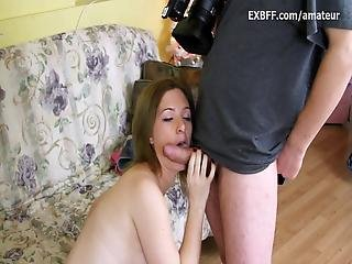 Geeky Canadian First Time Couple Fucks On Camera During Casting