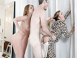 Angry Horny Teens Punished A Stepbrother