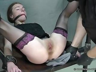 Helpless And Ankles Bound Again