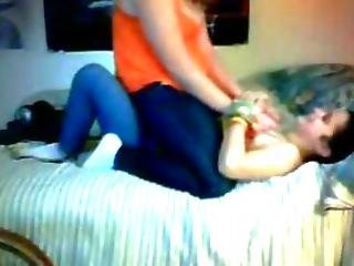 Two Chubby Teens Fondling And Fingering On Webcam