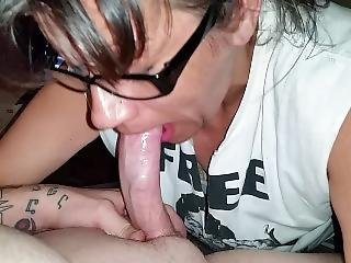 Cumming In Her Mouth