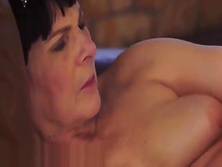Chubby Grandma Pussylicked By Lesbian Babe