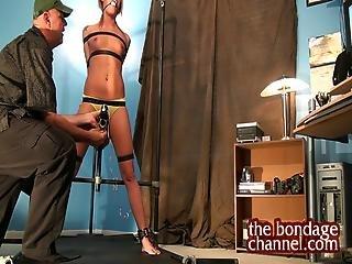 Tie Up A Hot Blonde
