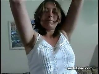 Hairy Sweaty Mixed Wrestling (female Domination)