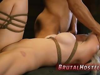 Extreme Anal Gangbang Orgy Big-breasted Light-haired Hottie Cristi Ann Is