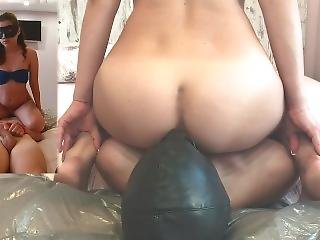 Young Girl Farting In Slaves Mouth