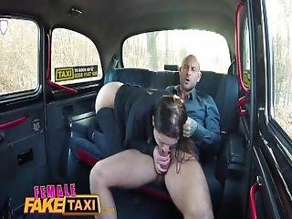 Female Fake Taxi Hot Horny Minx Cums Hard After Craving For Taxi Cab Sex