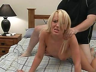 Blonde Bitch Fucked Til She Dropped1