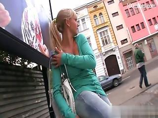 Busty Pussy Cum On Butt