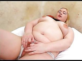 Horny Fat Chubby Teen With Shaven Pussy Getting Fucked 1