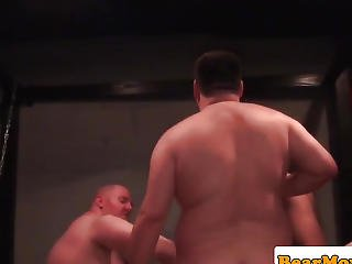 Superchub Bears Assfucking During Fuckfest