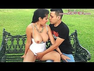 Silvia Santez Mexican Brunnete Slut Fucks A Guy She Just Met Outdoors