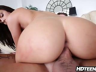 Teen With Amazing Big Natural Tits In Lace Teddy Blowjob And Sex