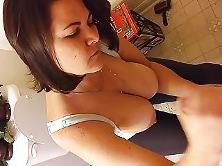 buttet bryster amatør