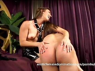 Bossy Mistress Punishes Her Boyfriend With Some Very Painful Flogging