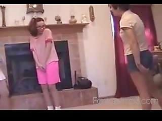 Girl Humiliated With Cuntbusting And Ballbusting Talk