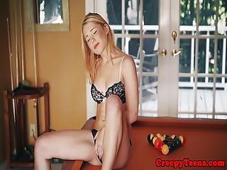 blonde, bondage, fétiche, nique, hardcore, extérieur, Ados