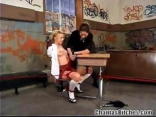 Amber Punishing Lexi Belle