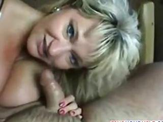 Blowjob And Creampie From Lonely Wife