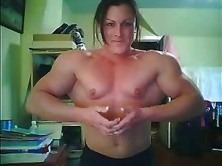 Amateur, Muscled, Topless, Webcam