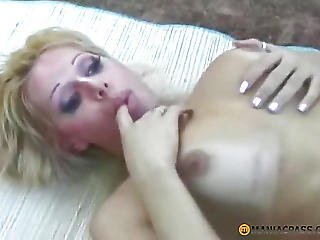 Ejaculation On Her Penis