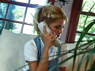 blondynka, ślicznotka, niewinna, Nastolatki, dziewica