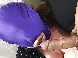 Bigdumbsex 007 Masked Gagging Quacking Cum In Mouth