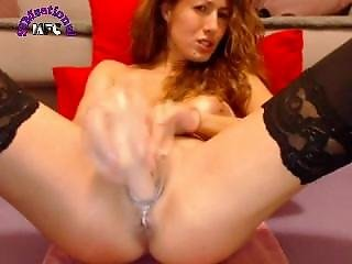 Amateur, Dildo, Fingering, Pussy, Squirt, Teen, Webcam