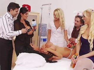 Dirty Doctor Fucks Her Slut Nurses And Patients