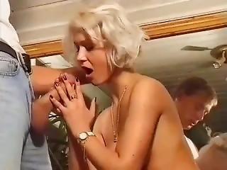 Bathroom Blonde Babe