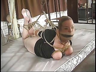 Bondage, Hogtied, Tied