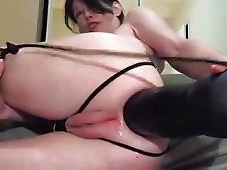 Huge Dildo In The Ass