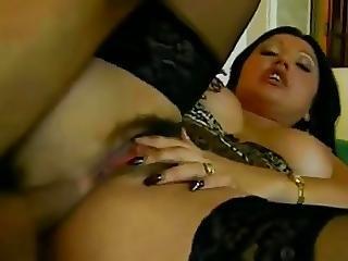 Beauty Lady Rox Anal Fucking In Stockings