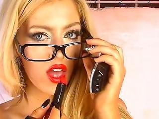 Delia Rose Sexy Red Lipstick(1)