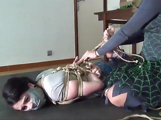Bondage, λεσβιακό, πόνος, δεμένη
