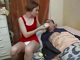 anal, avsugning, ung