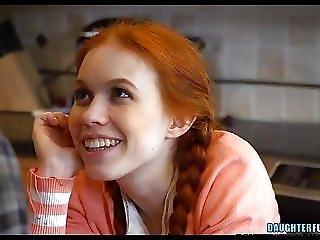 Petite Redhead Teen Daughter