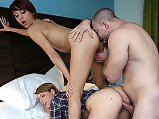 Seductive Cowgirls Getting Her Twat Banged