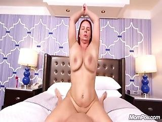 Anal Fucking A Huge Natural Tits Euro Milf