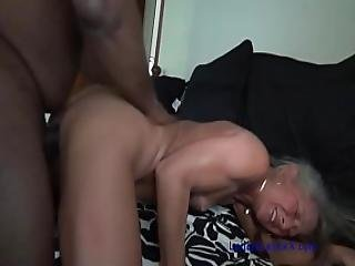 Petite Milf S Yoga Interrupted By Bbc