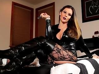 Mistress Sexy Stockings Boots