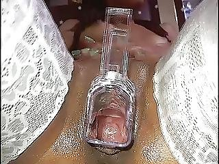 Polys Gaping Pussy Speculum Show
