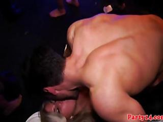 Real Nightclub Orgy With Amateur Euro Teens