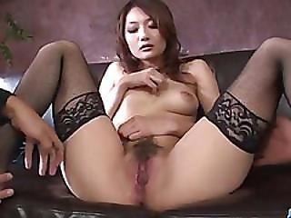 Riina Fujimoto Amazing Cam Show Along A Hot Stud