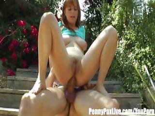 Penny Pax Gets Fucked In The Ass Creampied In Her Backyard